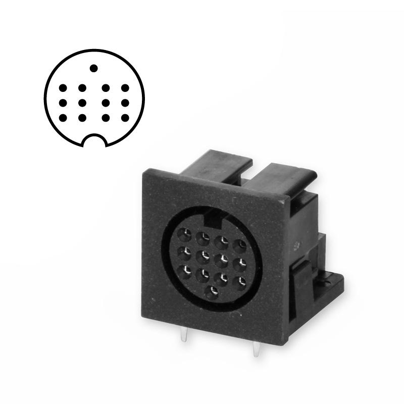 DIN socket 13-pin