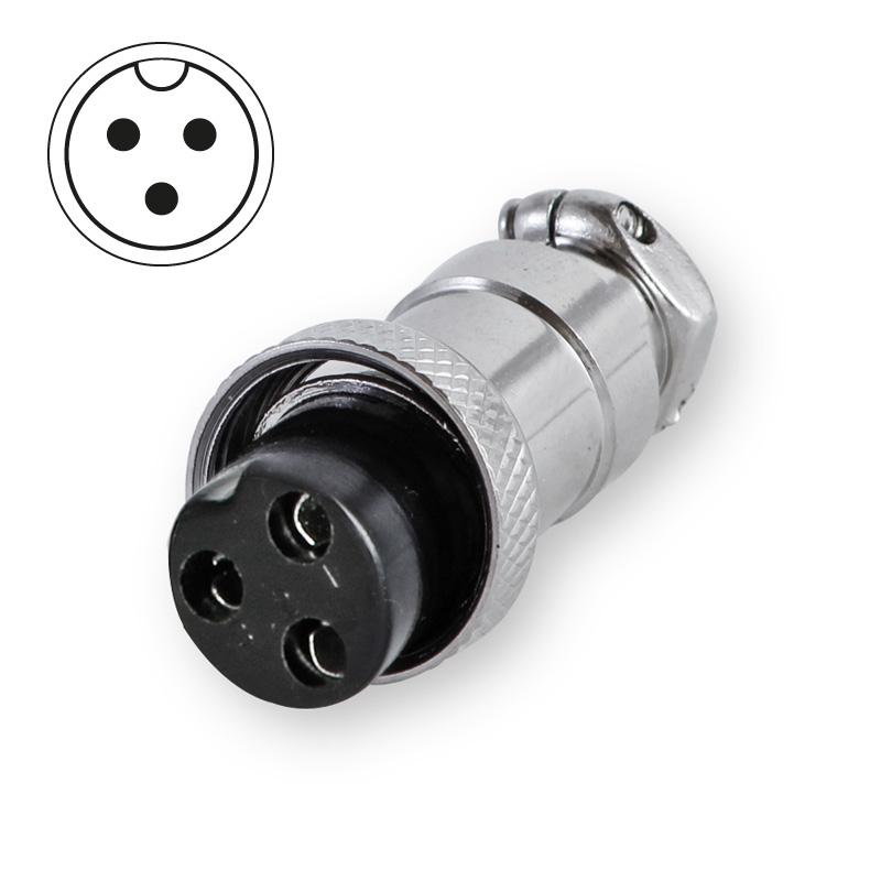 Microphone plug 3-pin