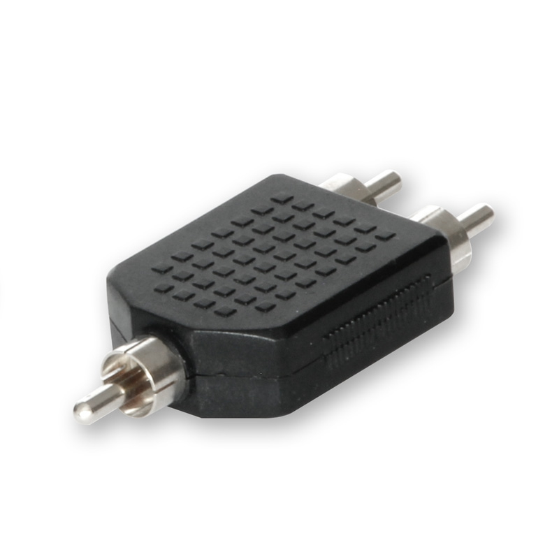 RCA Y-Connector 1x Male to 2x Male