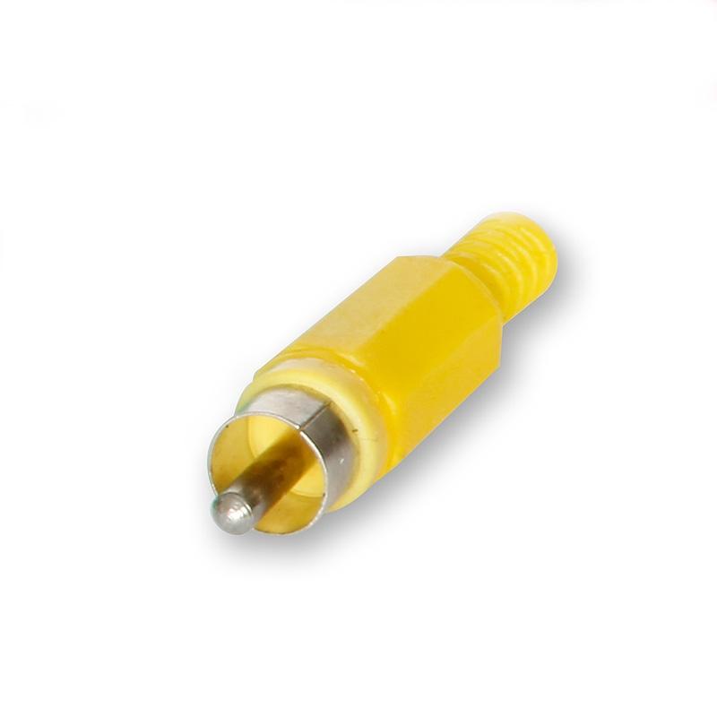 RCA Plug Plastik Type