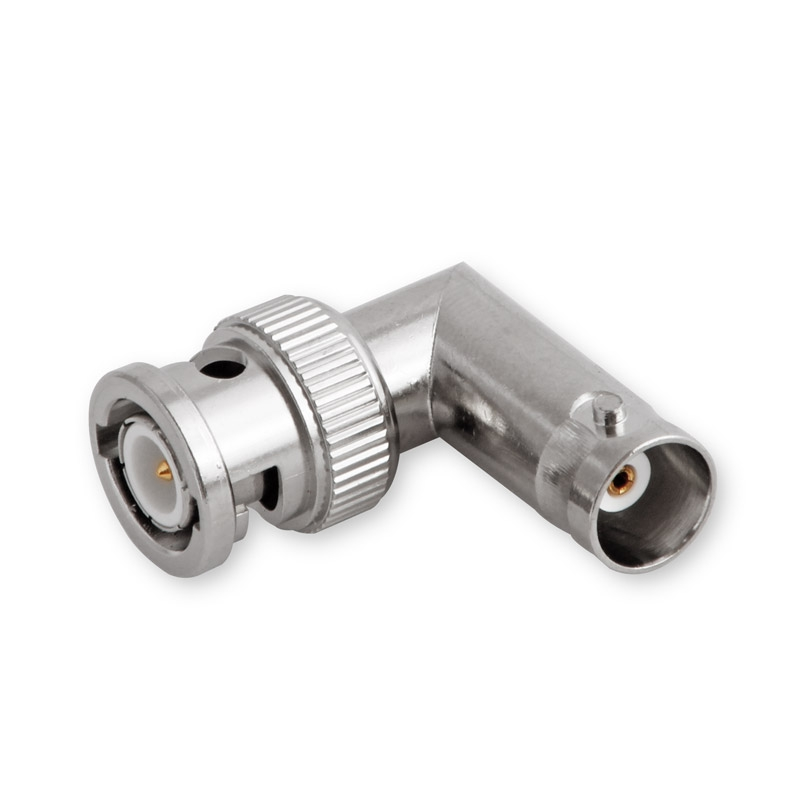 BNC right angle-Adapter Male-Female