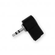 Right angle jack plug 2,5 mm STEREO