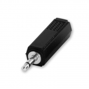 Adapter 3,5 mm MONO to 6,3 mm MONO