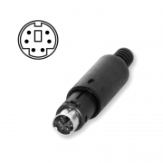 Mini DIN connector 6-pin