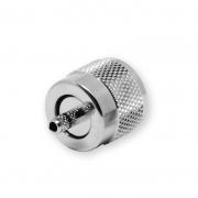 Crimp UHF/PL connector for RG 174