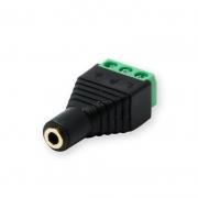 Terminal Block 3-pin - 3,5 mm female Stereo Screw Fastening