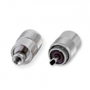 Twist UHF Stecker für RG 58